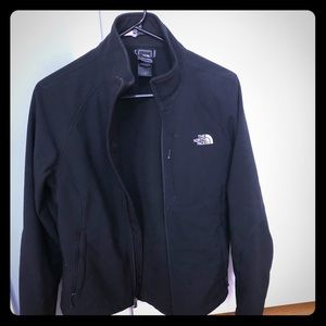 Black North Face Light weight jacket